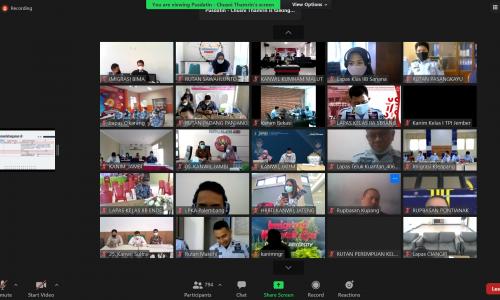 Sosialisasi Pemanfaatan Sertifikat Elektronik pada Kantor Wilayah dan Unit Pelaksana Teknis